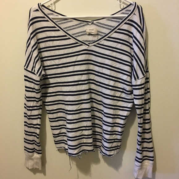 aerie Sweaters - aerie Striped Sweater